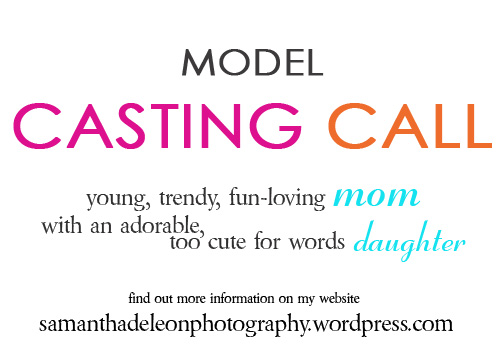 Model Casting Call :: For a mini stylized shoot in March 2013 {El Dorado Hills Children Photographer}